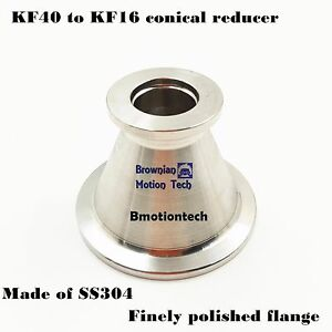 KF40-NW40-to-KF16-NW16-Flange-vacuum-conical-reducer-Stainless-steel-304