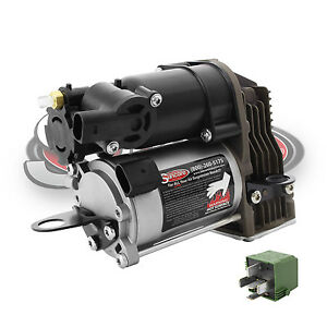 Air Suspension Compressor with Relay for MercedesBenz S550 8