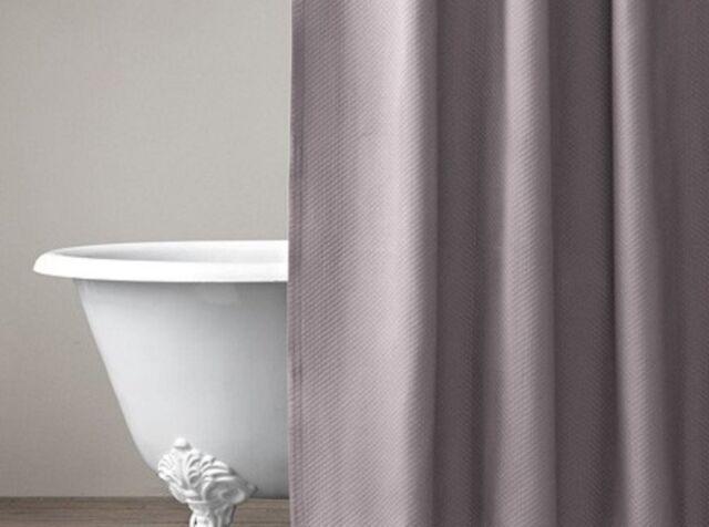 Restoration Hardware Diamond Matele Iris Purple Shower Curtain
