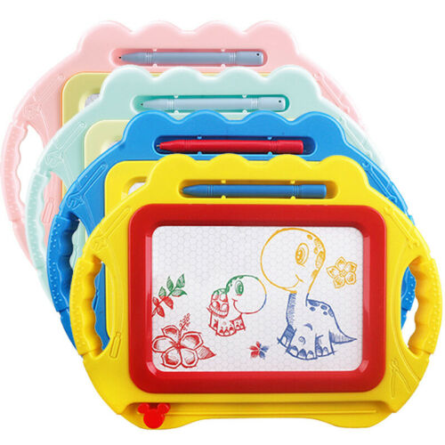 Kids Drawing Board Magnetic Writing Sketch Pad Erasable Magna Doodle Toy New