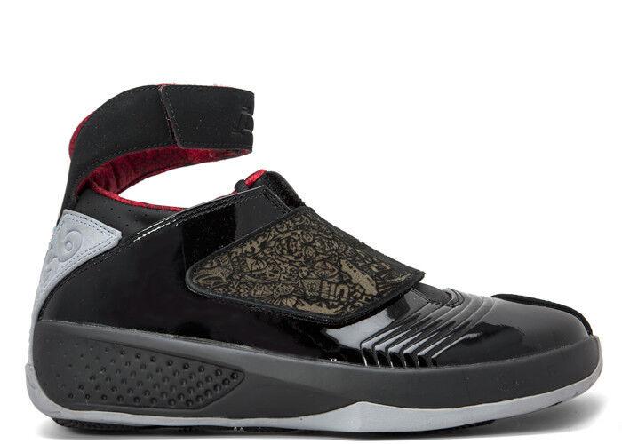 Nike Air Jordan 20 XX Stealth OG Black Varsity Red 310455-002 Bred Size 7.5-12