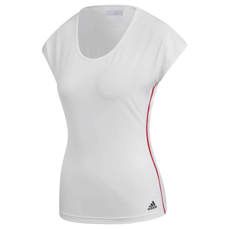Adidas Women's Barricade Climalite Lightweight Breathable Tennis T-Shirt