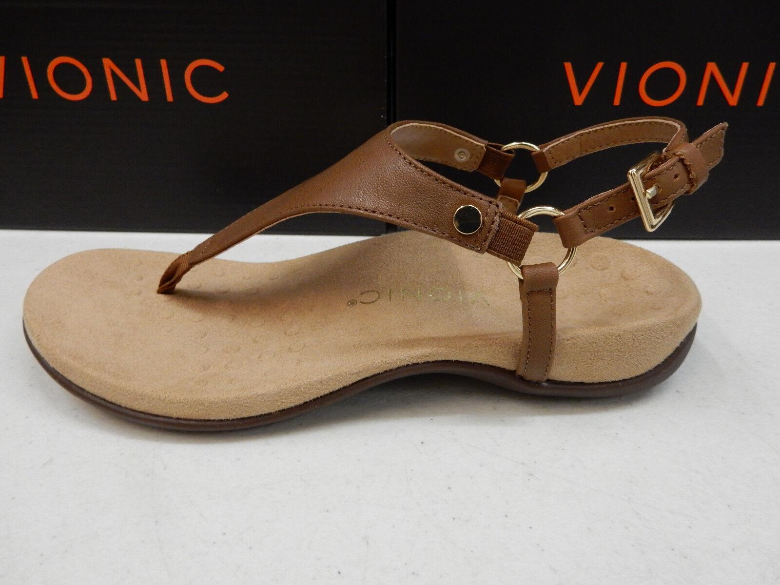 e38994fcc9e2 Vionic Womens Sandals Kirra Brown Size 6 for sale online