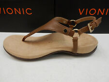 98399b19e334 Vionic Kirra Backstrap Sandals Womens Brown 9 for sale online