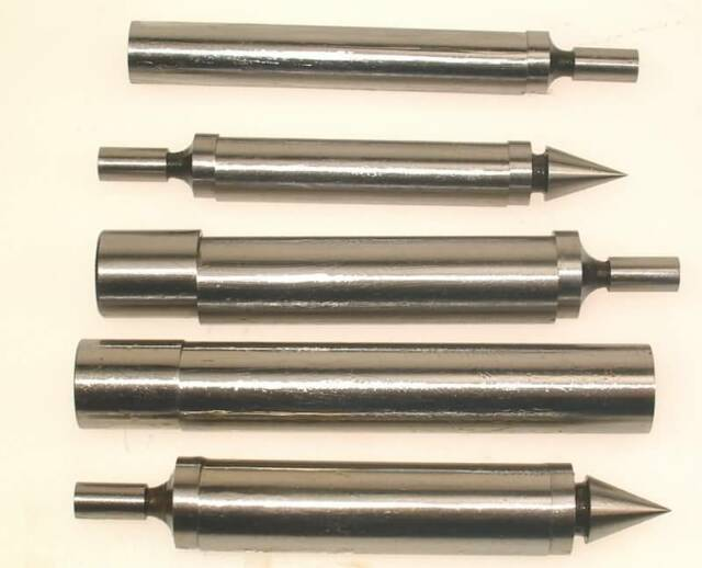 SET OF EDGE FINDERS FOR LATHE OR MILLING MACHINE