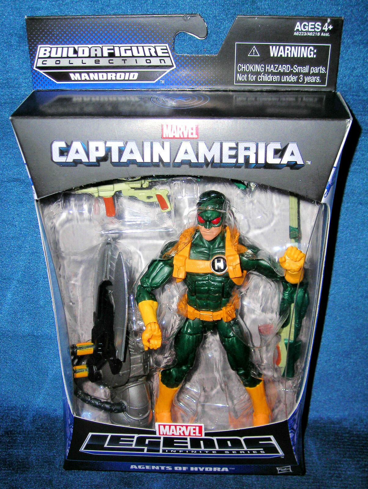 Marvel - legenden captain america hydra soldat unendlich  winter - universum
