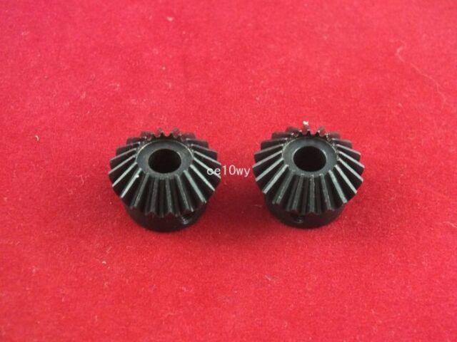 2pcs 034 The 1 module 20 teeth Hole 6 90 degree gear reversing Bevel gear