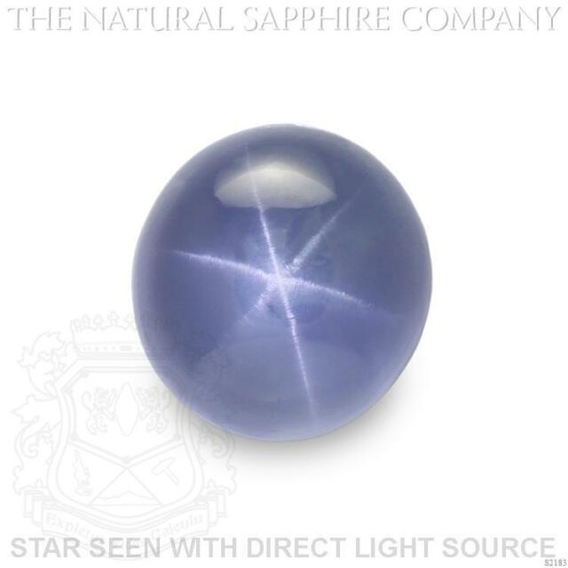 Natural Untreated Blue Star Sapphire, 16.40ct. (S2183)