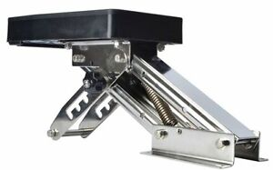 Outboard Motor Bracket Kicker for Boat up to 25HP Auxilary Trolling Mount-AM New