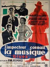 La Musique original French movie poster. NOT a repro! almost free signed