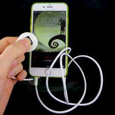 Telecomando cavo jack 3,5mm auricolari controllo foto selfie Bianco video SY5
