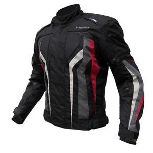 Giubbotto-Moto-Tecnico-HERO-HR-17-875-Impermeabile-Nero-Rosso