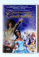 Disney Live Action Cinderella Movie Dvd Brandy Whitney Houston Whoopi Goldberg