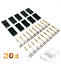 20-Stueck-Female-Servo-Stecker-Vergoldet-JST-SH-JR-Graupner-kompatibel-Crimp-Pins Indexbild 1