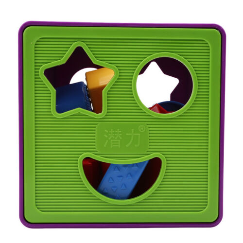 Colorful Block Intelligence Shape Learning Sorter Box Baby Kid Educational Toy S