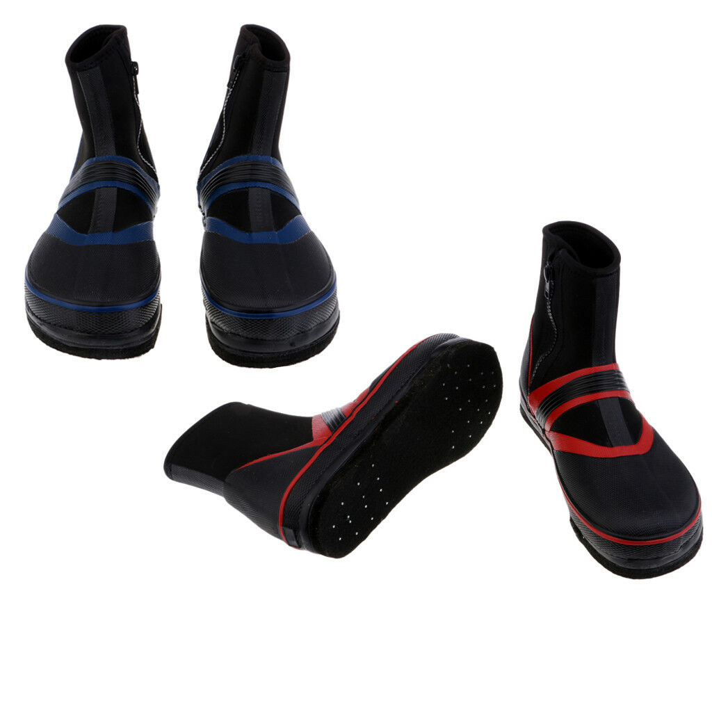 Felt & Nails Sole Breathable Fishing Wading Boots, Anti-slip Spikes shoes