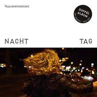 2RAUMWOHNUNG / NACHT & TAG * NEW 2CD'S 2017 * NEU