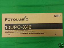 DNP 10UPCX46 Color Passport Media Pack Sony UPXC100 UPXC200 UPXC300 DNP ID-400