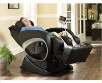 Cozzia Zero Anti Gravity Shiatsu Massage Chair Berkline16027 - Optional Warranty