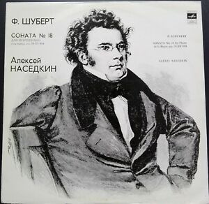 Schubert - Piano Sonata No. 18, ALEXEI NASEDKIN, Melodiya STEREO