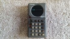 Toshiba Toscal Bc-602l Hand Held Calculator Circa 1972 Demonstration Video