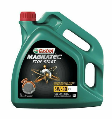 Castrol Magnatec Stop-Start 5W-30 C3 Fully Synthetic Engine Oil 5W30 4 LITRES 4L