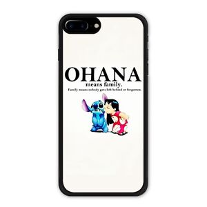 newest 484ca c0c91 Details about Lilo and Stitch iPhone 7 / 7 Plus / 8 / 8 Plus Case Ohana  Means Family