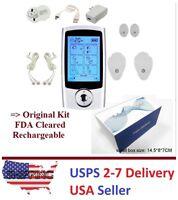 Tens Unit Fda Cleared 16 Modes Electro Massage Therapy Device Pulse Impulse