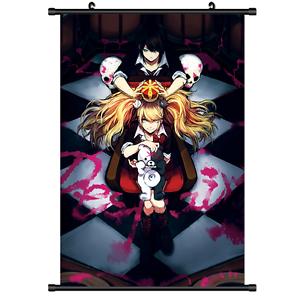 "danganronpa Canvas Anime Print Wall Poster Scroll Home Decor 12/""X18/"""