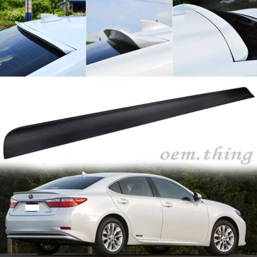 Fit FOR Lexus ES350 ES300h Sedan Rear Window Lip Roof Spoiler PUF 15 Unpainted