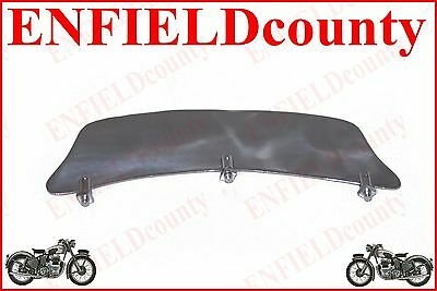 STEEL CHROME FRONT MUDGUARD NUMBER PLATE WITH FITTING BSA TRIUMPH ARIEL @ECs