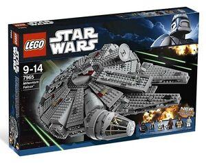 Lego-Star-Clone-Wars-7965-Millenium-Falcon-Darth-Vader-Han-Solo-Leia-Luke-NISB