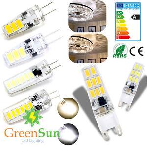 G4-G9-LED-3W-5W-6W-SMD-5733-Maiz-Lampara-Bombilla-Chandelier-AC-220V-DC-12V