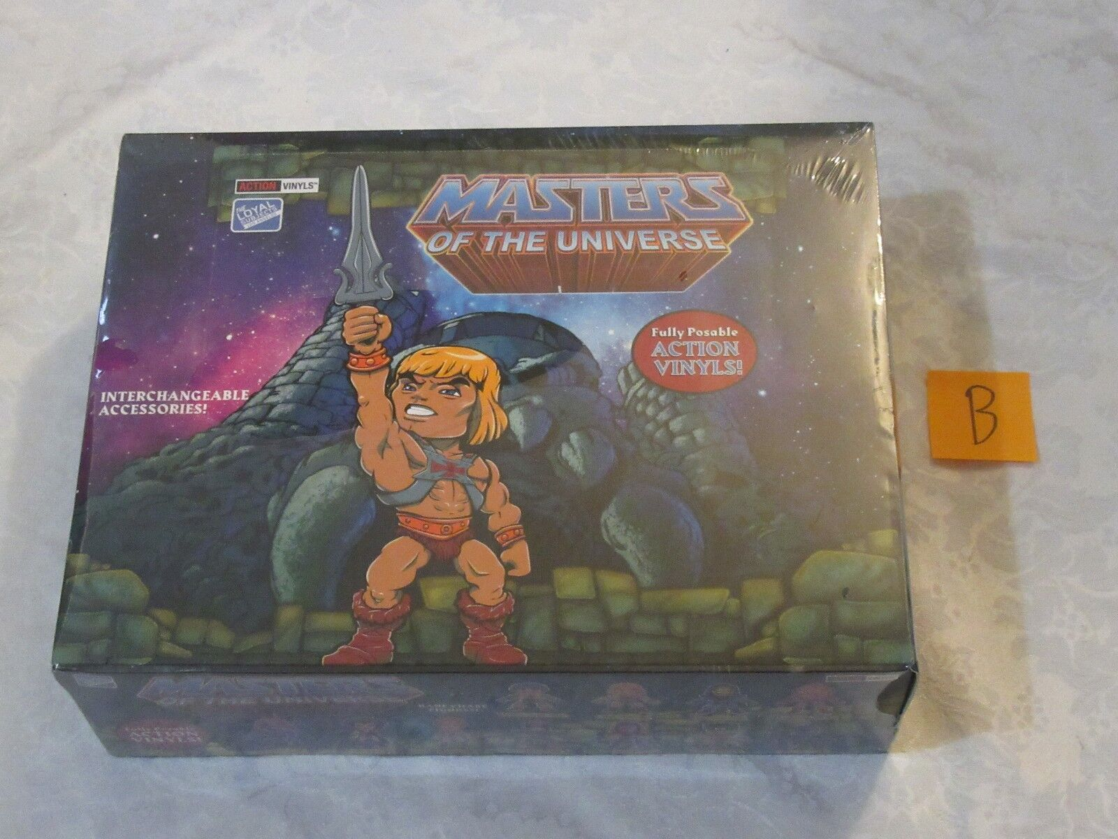 Loyal Subjects Masters of the Universe MOTU Sealed Case Box of 16 Blind Packs B