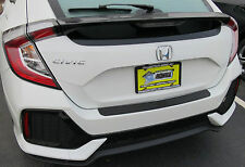 REAR BUMPER SURFACE PROTECTOR COVER FITS 2017 2018 17 18 HONDA CIVIC HATCHBACK