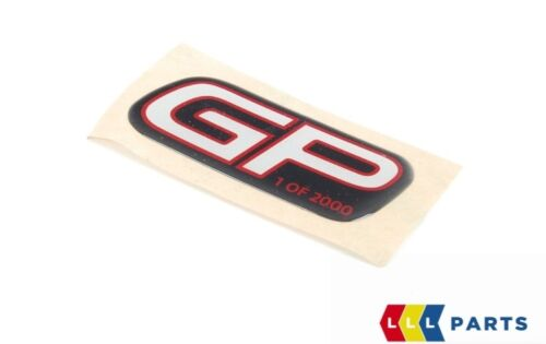 MINI NEW GENUINE JCW GP2 R56 FRONT DASHBOARD PANEL STICKER BADGE GP 1 OF 2000