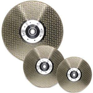 Diamant-Diamanttrennscheibe-Schruppscheibe-Schleifscheibe-115-125-230-Granit