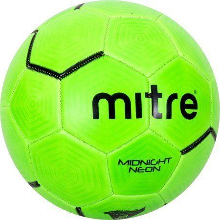 Mitre Midnight Neon Green Size 3 Soccerball W