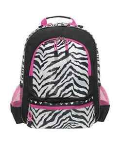 Three Cheers for Girls Zebra Backpack 3C4G 74300 | eBay