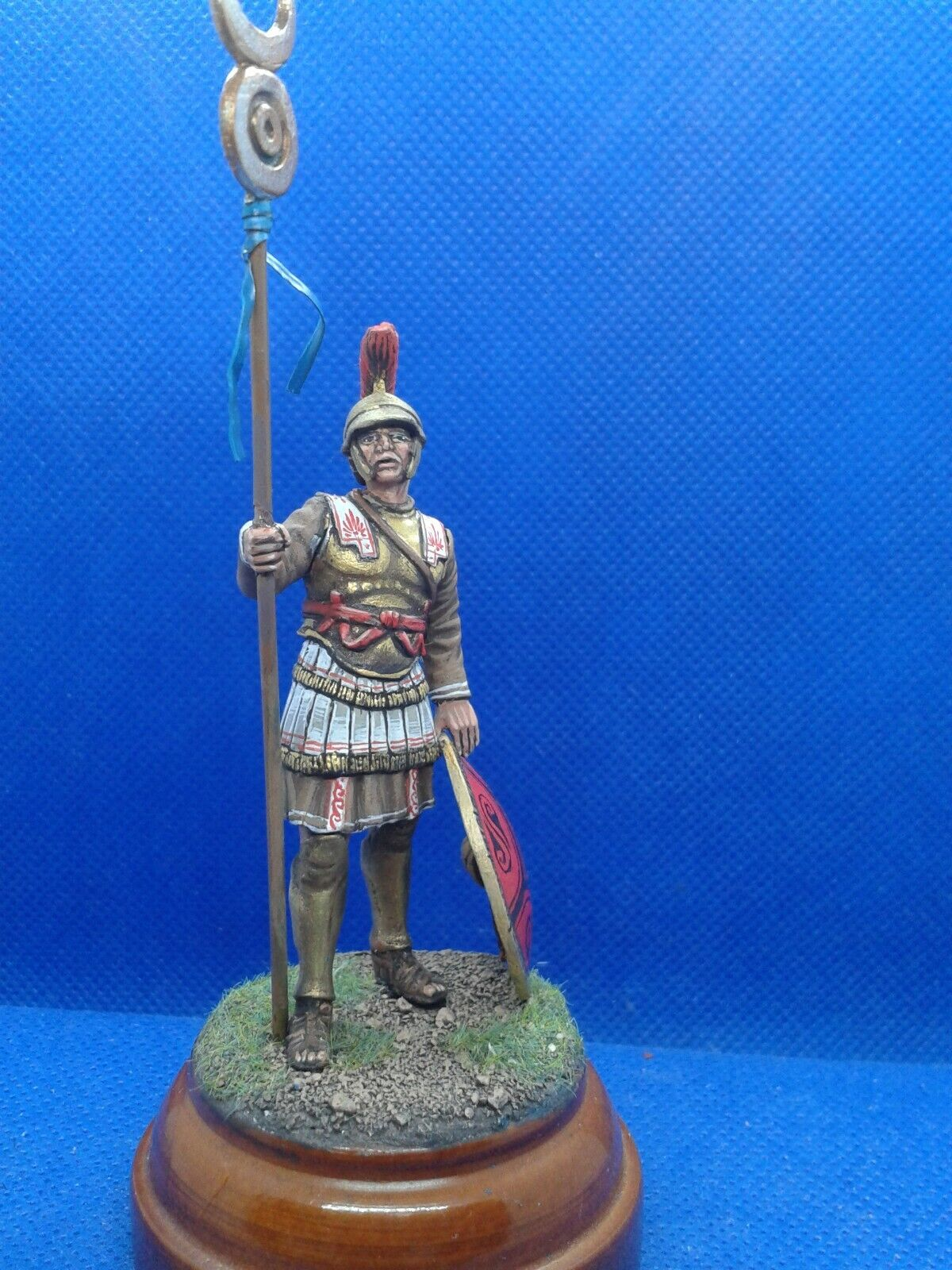 SOLDATINI di piombo elite painted soldiers cartaginese  el viejo 54 mm dipinti