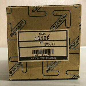 Oriental Motor 4GN9K Gear Head New In Box