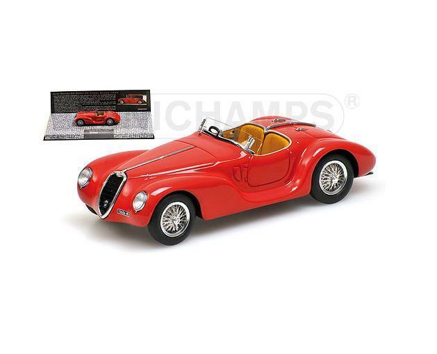 ALFA ROMEO 6 C SS Corsa Spider 1939 rouge 437120230 MINICHAMPS 1 43