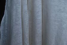 ce349248a76 100% Linen Jersey Knit Fabric By Yard Semi Sheer highend fabric 60