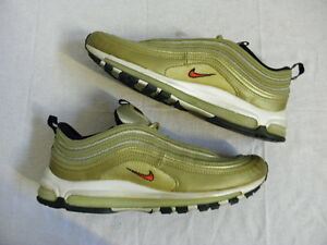 watch 5aa40 883be ... good image is loading nike air max 97 sc metallic gold red 47946 a6f51