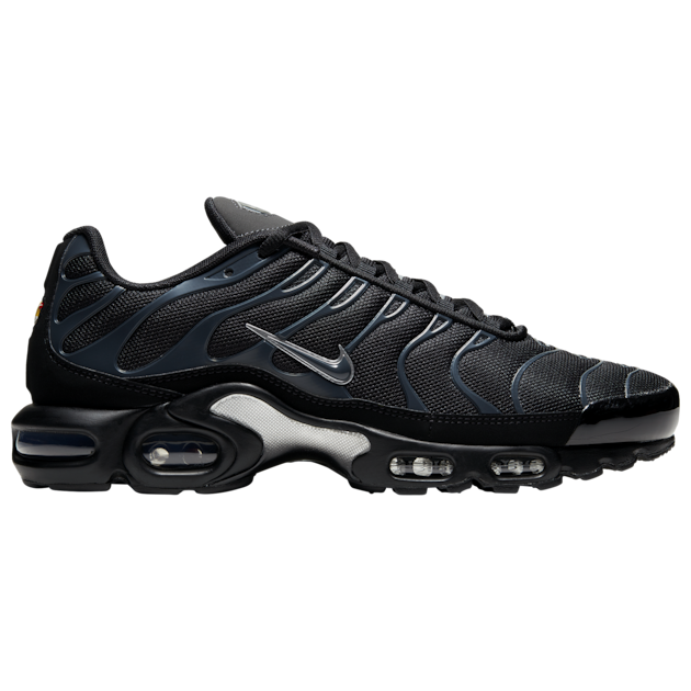 Nike Air Max Plus Black Metallic Silver 852630 015