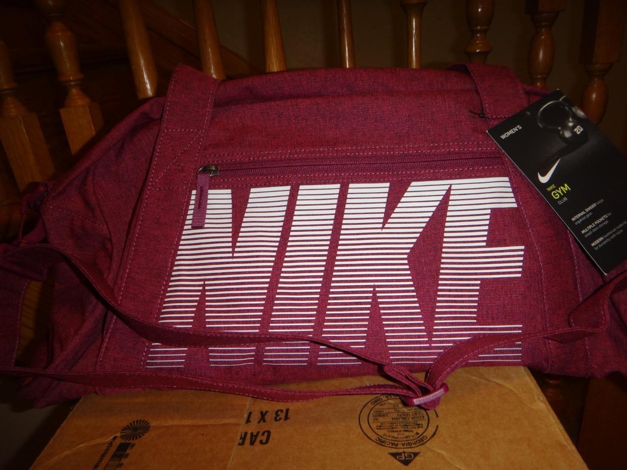 f141d2d513 Nike Gym Club Training Duffel Bag Womens Pink Ba5490 633 for sale ...