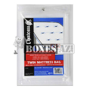 "(2) X-Long Twin Mattress Bags 86x40x12"" - Fits Pillow Top Beds & Box Spring"