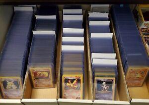 🥇 HOLO RARE VINTAGE POKEMON CARD LOT 🥇 Authentic 1999 WOTC Pokémon Gen 1 and 2