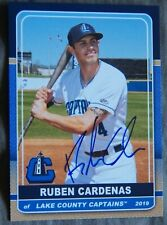 2019 Lake County Captains Ruben Cardenas RC Rookie Cleveland Indians