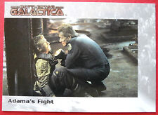 BATTLESTAR GALACTICA - Premiere Edition - Card #52 - Adama's Fight